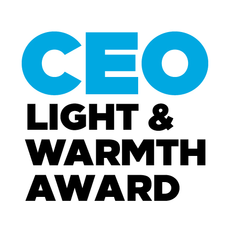 CEO Light & Warmth Award Globe